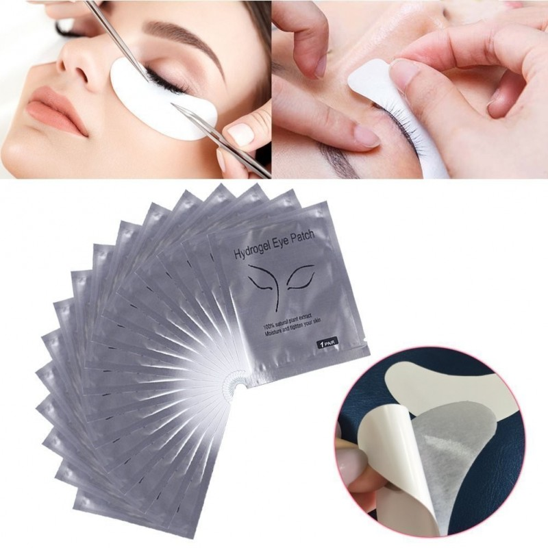 100 Paar Hydrogel Augenpads Eye Pads Profi Augen Gel Patch