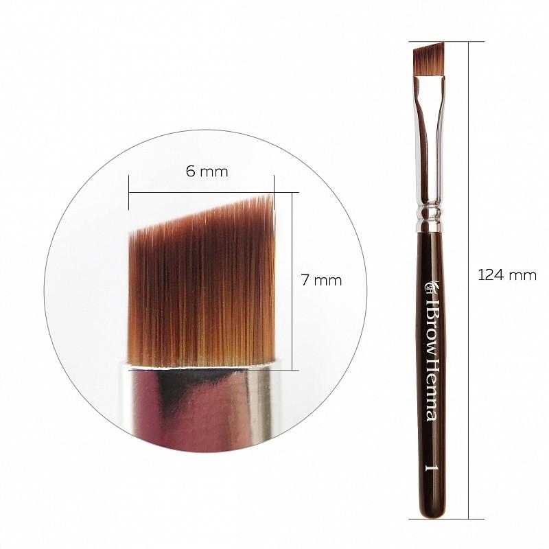 Brow Henna Brush Pinsel Superfine 1
