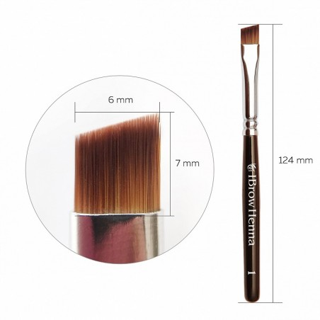 Brow Henna Brush Pinsel Superfine 1