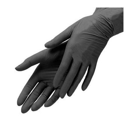 100x Nitril Handschuhe schwarz