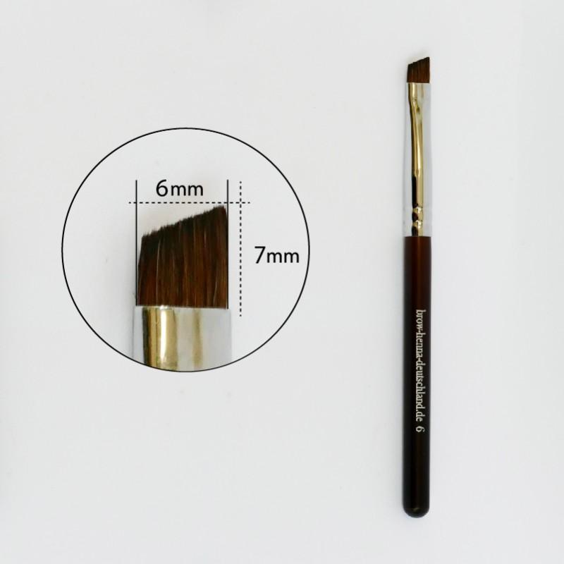 Brow Henna Pinsel 6mm